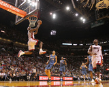 Washington Wizards v Miami Heat: LeBron James Photographic Print by Mike Ehrmann