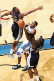 Memphis Grizzlies v Washington Wizards: Gilbert Arenas and Darrell Arthur Photographic Print by Ned Dishman