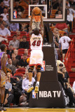 Phoenix Suns v Miami Heat: Udonis Haslem Photographic Print by Mike Ehrmann