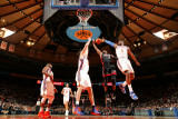 Miami Heat v New York Knicks: Amar'e Stoudemire and Dwyane Wade Photographic Print by Nathaniel S. Butler