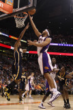 Indiana Pacers v Phoenix Suns: Jared Dudley and Danny Granger Photographic Print by Christian Petersen