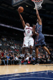 Charlotte Bobcats v Atlanta Hawks: Jeff Teague Photographic Print by Scott Cunningham