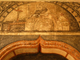 Wall Paintings by Dominican Friars in the Church of Santiago Cuilapan Photographic Print by Raul Touzon