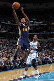 Utah Jazz v New Orleans Hornets: Raja Bell Photographic Print by Layne Murdoch