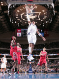 Houston Rockets v Dallas Mavericks: Shawn Marion and Jordan Hill Photographic Print by Glenn James