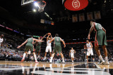 Milwaukee Bucks v San Antonio Spurs: Tony Parker and Brandon Jennings Photographic Print by D. Clarke Evans