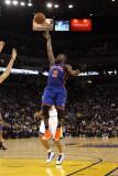 New York Knicks v Golden State Warriors: Raymond Felton Photographic Print by Ezra Shaw