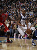 Chicago Bulls v Dallas Mavericks: Caron Butler and Luol Deng Photographic Print by Danny Bollinger