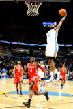 Houston Rockets v Oklahoma City Thunder: James Harden Photographic Print by Larry W. Smith