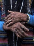 A Tibetan Woman's Hands Photographic Print by Alison Wright