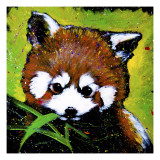 Red Panda Giclee Print