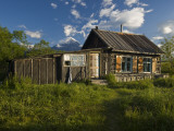 A House in the Kronotsky Nature Reserve Photographic Print by Michael Melford