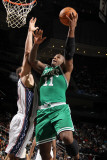Boston Celtics v New Jersey Nets: Glen Davis and Kris Humphries Photographic Print by Nathaniel S. Butler