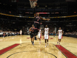 Chicago Bulls v Toronto Raptors: Derrick Rose Photographic Print by Ron Turenne