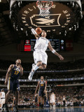 Utah Jazz v Dallas Mavericks: Shawn Marion and Ronnie Price Photographic Print by Glenn James