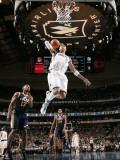 Utah Jazz v Dallas Mavericks: Shawn Marion and Ronnie Price Photographic Print by Glenn James