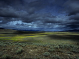 A Storm Building over the Plains of Southern Colorado Photographic Print by David Edwards