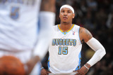 Orlando Magic v Denver Nuggets: Carmelo Anthony Photographic Print by Garrett Ellwood