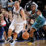 New Orleans Hornets v Dallas Mavericks: Jason Kidd and Chris Paul Photographic Print by Glenn James