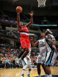 Portland Trail Blazers v Memphis Grizzlies: Wesley Matthews and Zach Randolph Photographic Print by Joe Murphy