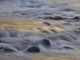 Water Rushes over Rocks in the Merced Wild and Scenic River Photographic Print by Phil Schermeister