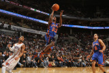 New York Knicks v Charlotte Bobcats: Toney Douglas Photographic Print by Brock Williams-Smith
