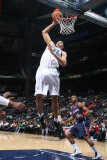Washington Wizards v Atlanta Hawks: JaVale McGee Photographic Print by Scott Cunningham