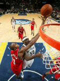 Portland Trail Blazers v Memphis Grizzlies: Zach Randolph and Dante Cunningham Photographic Print by Joe Murphy