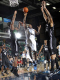 Austin Toros v Texas Legends: Dominique Jones Photographic Print by Layne Murdoch
