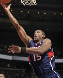 Atlanta Hawks v Detroit Pistons: Al Horford Photographic Print by Allen Einstein