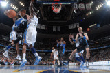 Orlando Magic v Denver Nuggets: Jameer Nelson and Al Harrington Photographic Print by Garrett Ellwood