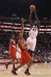 Portland Trail Blazers v Phoenix Suns: Jason Richardson and Andre Miller Photographic Print by Christian 