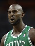 Boston Celtics v Charlotte Bobcats: Kevin Garnett Photographic Print by Streeter Lecka