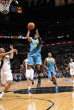 New Orleans Hornets v San Antonio Spurs: Chris Paul and George Hill Photographic Print by D. Clarke Evans