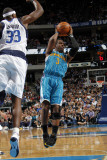 New Orleans Hornets v Dallas Mavericks: Chris Paul and Brendan Haywood Photographic Print by Layne Murdoch
