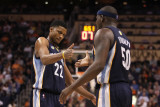 Memphis Grizzlies v Phoenix Suns: Rudy Gay and Zach Randolph Photographic Print by Christian