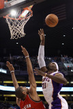 Portland Trail Blazers v Phoenix Suns: Hakim Warrick and Nicolas Batum Photographic Print by  Christian