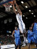 Tulsa 66ers v Texas Legends: Latavious Williams and Sean Williams Photographic Print by Layne Murdoch