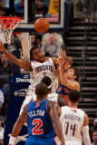 New York Knicks v Charlotte Bobcats: Dominic McGuire Photographic Print by Kent Smith
