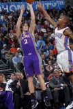 Phoenix Suns v Oklahoma City Thunder: Goran Dragic and Eric Maynor Photographic Print by Layne Murdoch