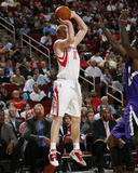 Sacramento Kings v Houston Rockets: Chase Budinger Photographic Print by Bill Baptist