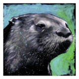 River Otter Giclee Print