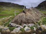 The Restoration of a Stone Age House Photographic Print by Jim Richardson