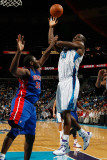 Detroit Pistons v New Orleans Hornets: Emeka Okafor and Jason Maxiell Photographic Print by Chris