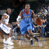 Tulsa 66ers v Texas Legends: Jerome Dyson and Booker Woodfox Photographic Print by Layne Murdoch