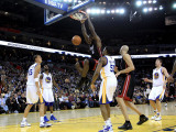 Miami Heat v Golden State Warriors: Lebron James Photographic Print by Ezra Shaw