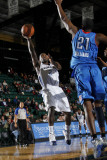 Tulsa 66ers v Texas Legends: Justin Dentmon and Latavious Williams Photographic Print by Layne Murdoch