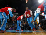 Charlotte Bobcats v New Orleans Hornets: Chris Paul Photographic Print by Layne Murdoch
