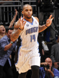 Miami Heat v Orlando Magic: Jameer Nelson Photographic Print by Fernando Medina