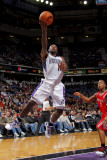 Houston Rockets v Sacramento Kings: Tyreke Evans Photographic Print by Rocky Widner